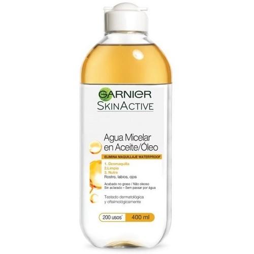 Agua micelar en aceite GARNIER 400 ml