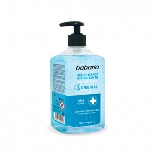 Gel de manos higienizante BABARIA 500 ml