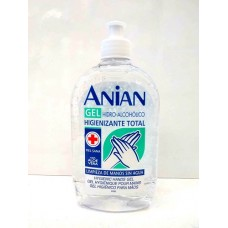 Gel hidroalcoholico higienizante ANIAN 500 ml