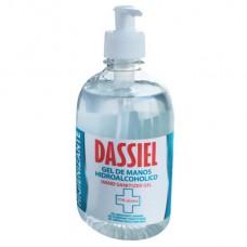 Gel de manos hidroalcoholico DASSIEL dosificador 500 ml