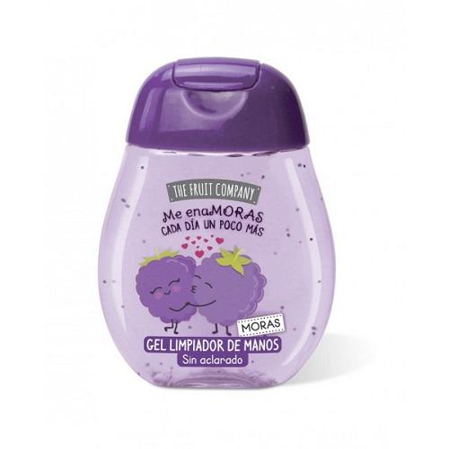 10 UNIDADES de gel desinfectante de manos THE FRUIT COMPANY MORA 45 ml