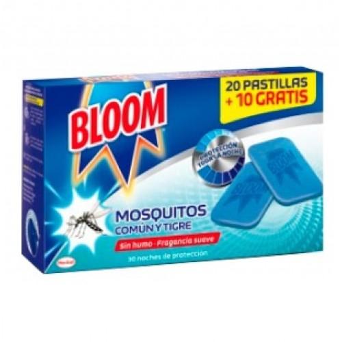 Recambios BLOOM 30 pastillas antimosquitos