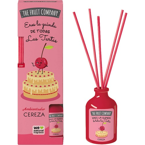 Ambientador mikado THE FRUIT COMPANY cereza
