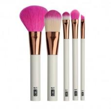 Set de 5 brochas de maquillaje FAMOUS FIVE UBU
