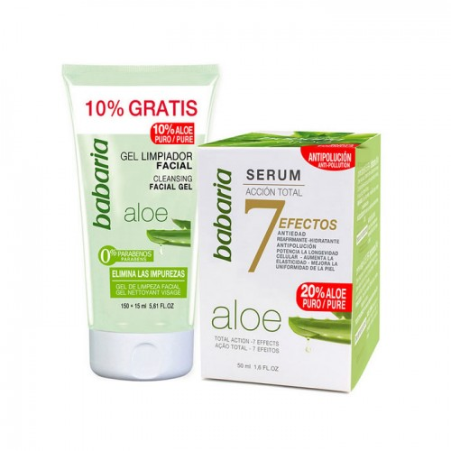 Serum BABARIA ACCION TOTAL 50 ML con regalo de gel limpiador facial