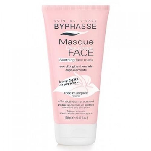 Mascarilla facial BYPHASSE rosa mosqueta.