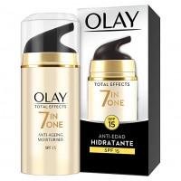 OLAY TOTAL EFFECTS 7 EN 1 hidratante antiedad de día SPF15 de 15 ml ( ultimas unidades ! )
