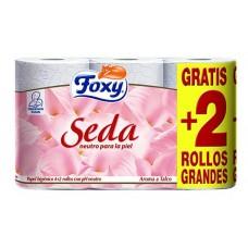 Papel higienico FOXY SEDA 6 rollos