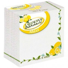 Servilletas NICKY 33X33 65 unidades