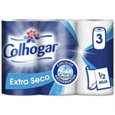 Papel de cocina COLHOGAR 3 rollos