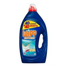 Detergente WIPP 40 + 40 LAVADOS
