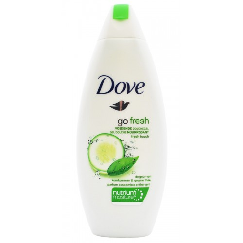 Gel de baño DOVE GO FRESH 250 ml