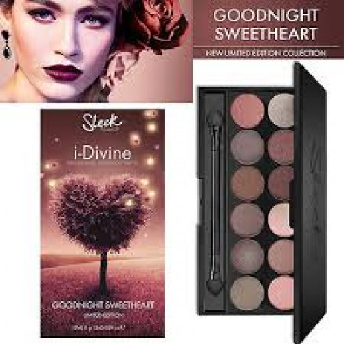 Paleta de sombras I-DIVINE SLEEK goodnight sweetheart limited edition