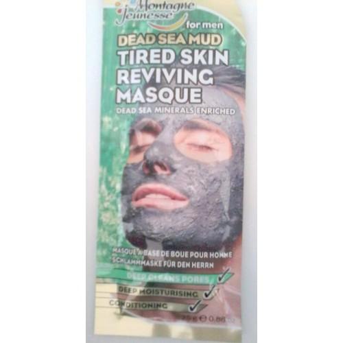 Exfoliante facial para hombre MONTAGNE JEUNESE de barro