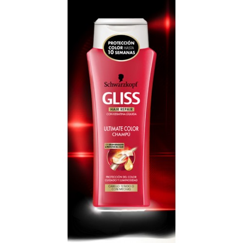 Champú GLISS ULTIMATE COLOR 250 ml