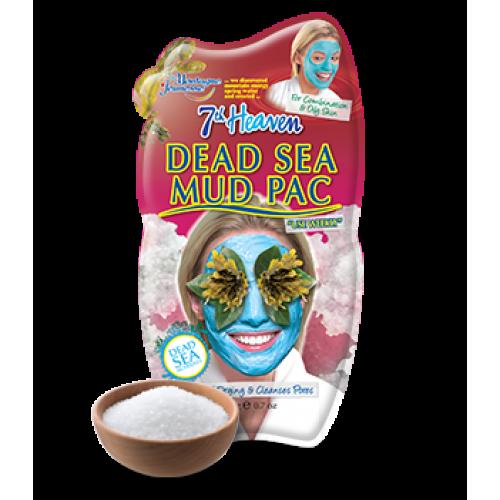 Mascarilla facial 7th Heaven DEAD SEA MUD PAC