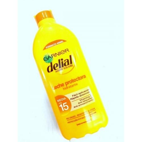 Leche protectora hidratante DELIAL FPS 15 400 ml