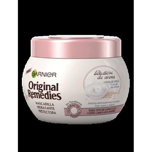 Mascarilla ORIGINAL REMEDIES delicatesse de avena 300 ml