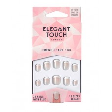 Uñas ELEGANT TOUCH french bare 144