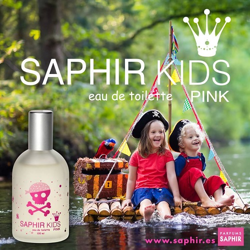 Colonia infantil SAPHIR KIDS PINK 100 ml