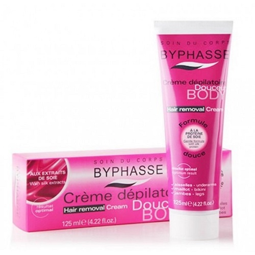 Crema depilatoria BYPHASSE soja 125 ml