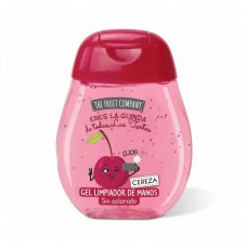 10 UNIDADES de gel desinfectante de manos THE FRUIT COMPANY cereza 45 ml