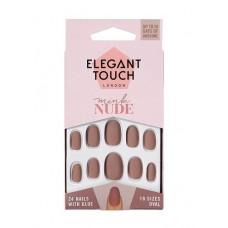 Uñas ELEGANT TOUCH Mink nude