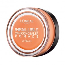 Corrector INFALLIBLE 24H CONCEALER POMADE 20 peach