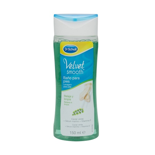 Baño para pies VELVET SMOOTH SCHOLL 150 ml