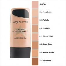 Maquillaje MAX FACTOR lasting performance 105